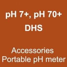 pH7+, pH70+ DHS (Accessories Portable pH meter)