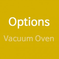 Options (Vacuum Oven)