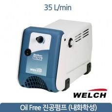 welchi teflon diaphram pump 웰치 진공펌프 35L/min welch 2044